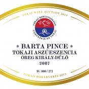 Barta Aszúeszencia Öreg Király-dűlő 2007