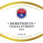 Demetervin Úrágya Furmint 2012