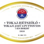 Tokaj-Hétszőlő Aszú 6 puttonyos 2010 '7-es hordó'