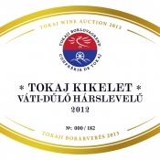 Tokaj Kikelet Váti-dűlő Hárslevelű 2012