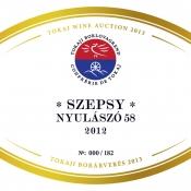 Szepsy Nyulászó 58 2012