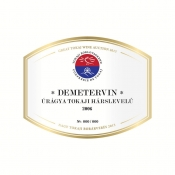 Demetervin-Uragya-Tokaji-Harslevelu-2006