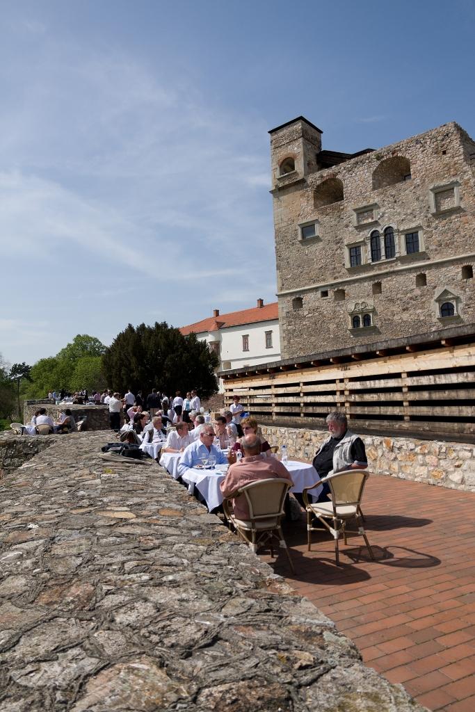 Piknik ebéd a Vár nyitott bástyáin, 2013.