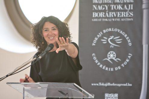 Photo of Auctioneer Nóra Winkler