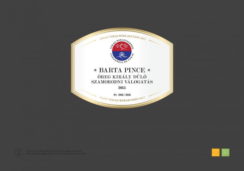 Barta Pince – Öreg Király Dűlő Szamorodni Válogatás 2015