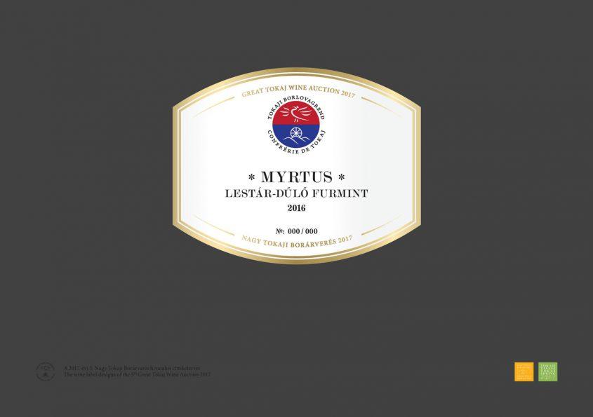 Myrtus Pince – Lestár-dűlő Furmint 2016