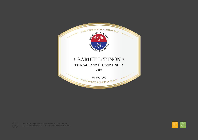 Samuel Tinon Tokaj - Tokaji Aszú Esszencia 2003