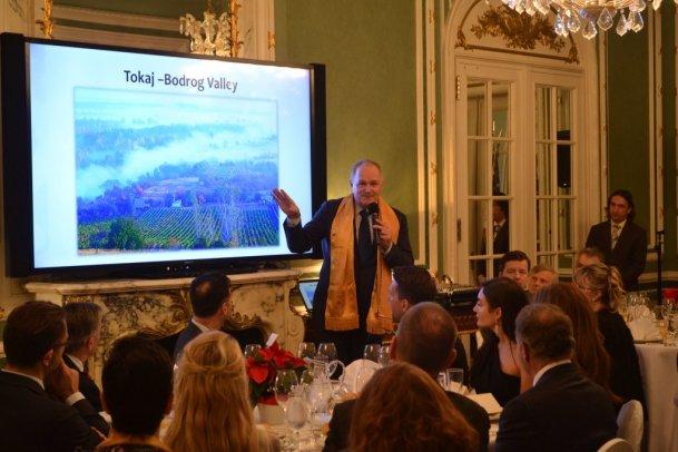 Tokaji Borlovagrend Washington DC prezentáció