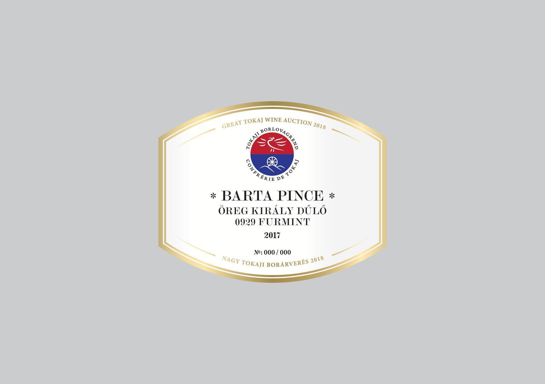 Barta Pince Öreg Király Dűlő Furmint 2017