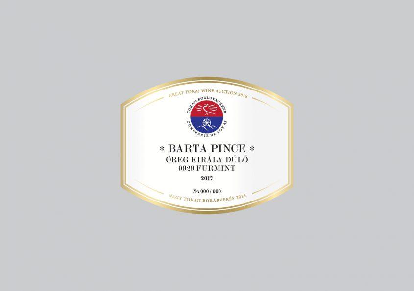 Barta Pince - Öreg Király Dűlő Furmint 0929 2017
