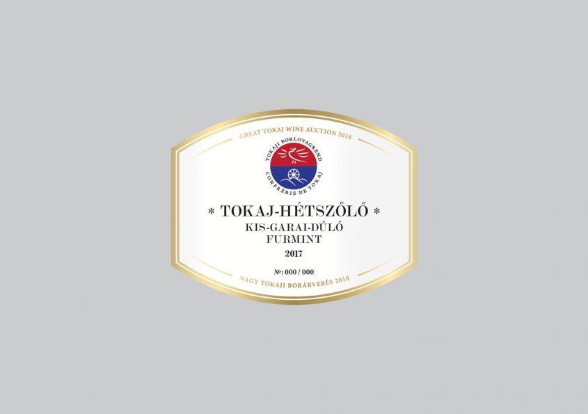 Tokaj-Hétszőlő Kis-Garai-dűlő Furmint 2017