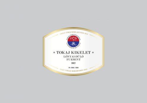 Tokaj Kikelet Lónyai-dűlő Furmint 2017