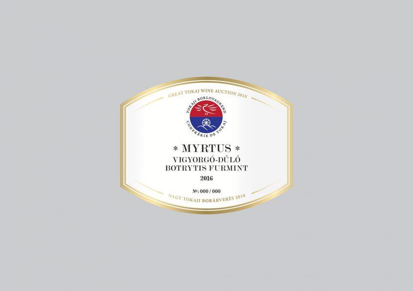 Myrtus Vigyorgó-dűlő Botrytis Furmint 2016