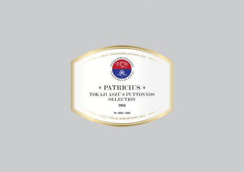 Patricius Tokaji Aszú 6 puttonyos Selection 2016