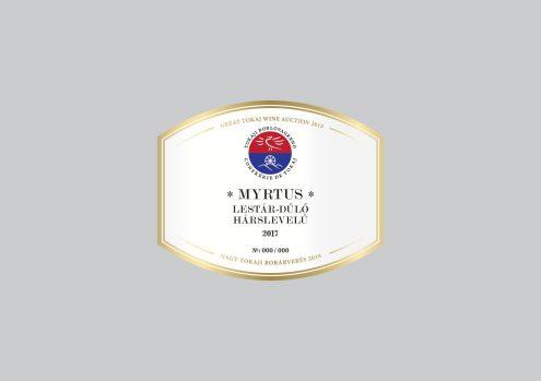 Myrtus Lestár-dűlő Hárslevelű 2017