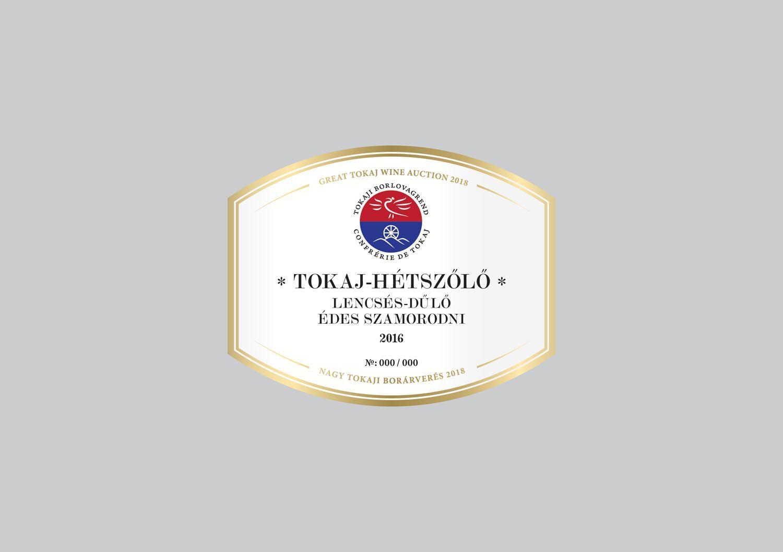 Tokaj-Hétszőlő Bio Szőlőbirtok - Lencsés-dűlő Édes Szamorodni