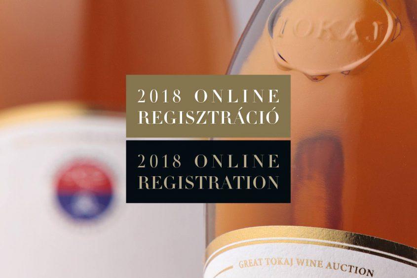 Online regisztráció 2018